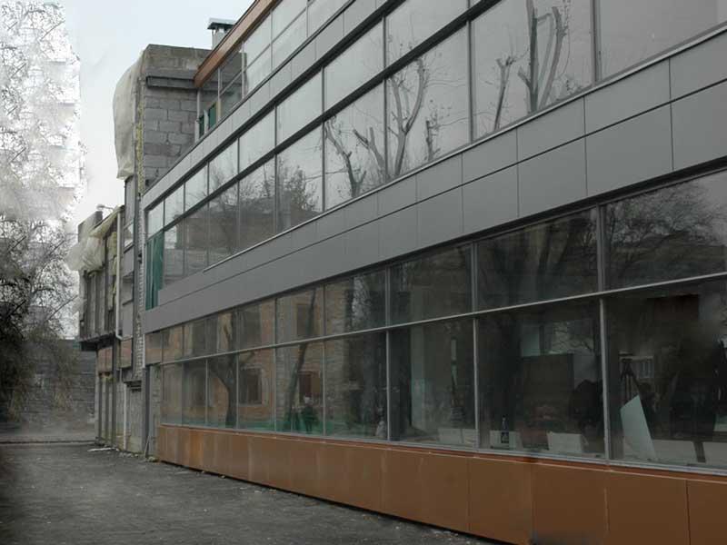 Переваги вентильованого фасаду