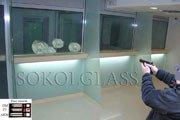 Блок касових кабін для банку в Києві