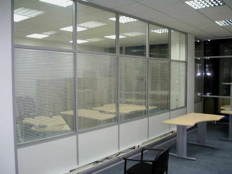 Офисные перегородки стеклянные