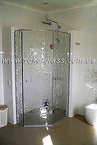 Стеклянная дверь в душевую купить